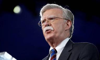 John Bolton, novo conselheiro de Segurança Nacional do presidente Donald Trump Foto: Joshua Roberts / REUTERS