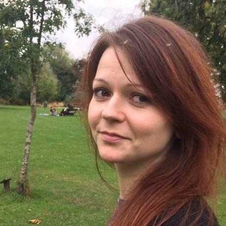 Yulia Skripal, filha de Sergei Skripal, ex-espião russo envenenado na Inglaterra Foto: Reprodução