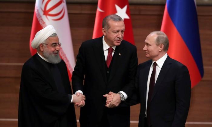 Resultado de imagem para iran ,turquia na síria