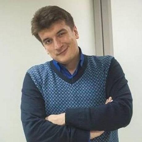 O jornalista Maxim Borodin Foto: Reprodução