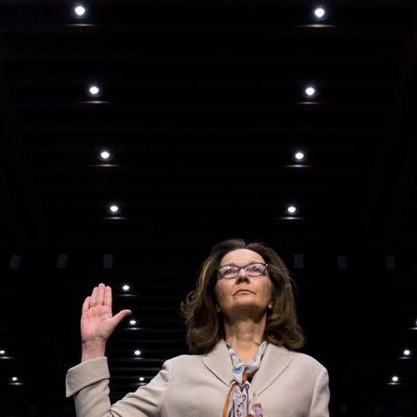 Indicada de Trump à CIA, Gina Haspel: acusada de praticar tortura Foto: Aaron Bernstein / REUTERS