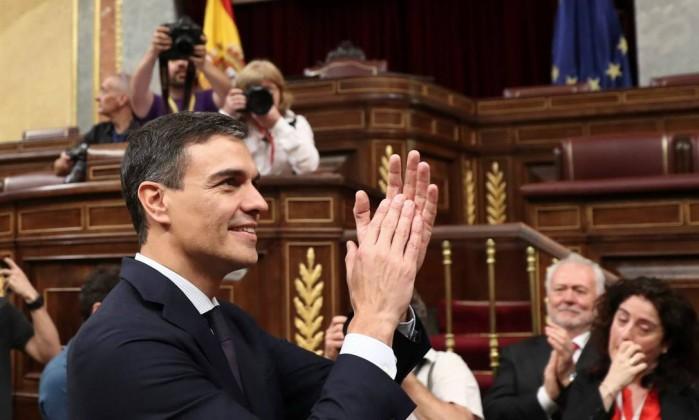 Resultado de imagem para Pedro Sánchez presidente