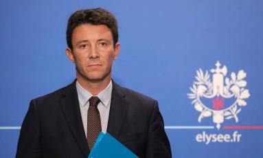 O porta-voz do governo francês, Benjamin Griveaux Foto: LUDOVIC MARIN / AFP