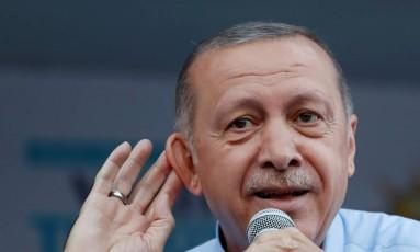 O presidente da Turquia, Recep Tayyip Erdogan Foto: Goran Tomasevic / REUTERS