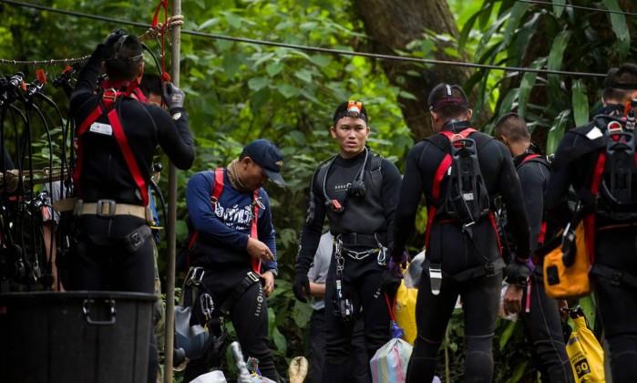 Resultado de imagem para Chiang Rai resgate