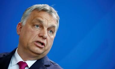 O premier húngaro, Viktor Orban Foto: Axel Schmidt / REUTERS