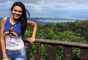 Raynéia Gabrielle Lima, estudante brasileira morta a tiros em Manágua, Nicarágua Foto: Reprodução