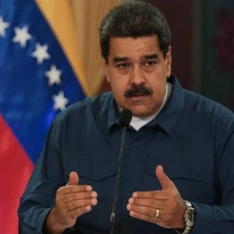 Nicolás Maduro embarcou para a China na tarde desta quarta-feira Foto: HANDOUT / REUTERS