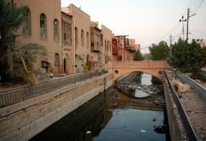 """Conhecida como """"a Veneza do Iraque"""", a cidade sofreu por causa de guerras desde a década de 1980 Foto: ALAA AL-MARJANI / REUTERS"""