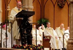 Carlo Maria Vigano, em foto de novembro de 2014: 'Não me surpreende que eu tenha sido acusado de deslealdade ao Santo Padre' Foto: Charles Rex Arbogast / Reuters