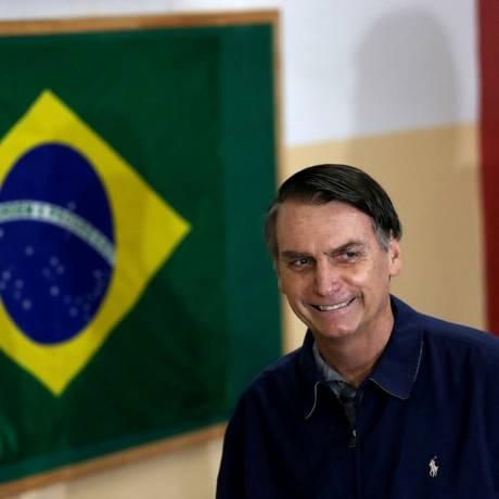 O presidente eleito Jair Bolsonaro Foto: Ricardo Moraes / REUTERS