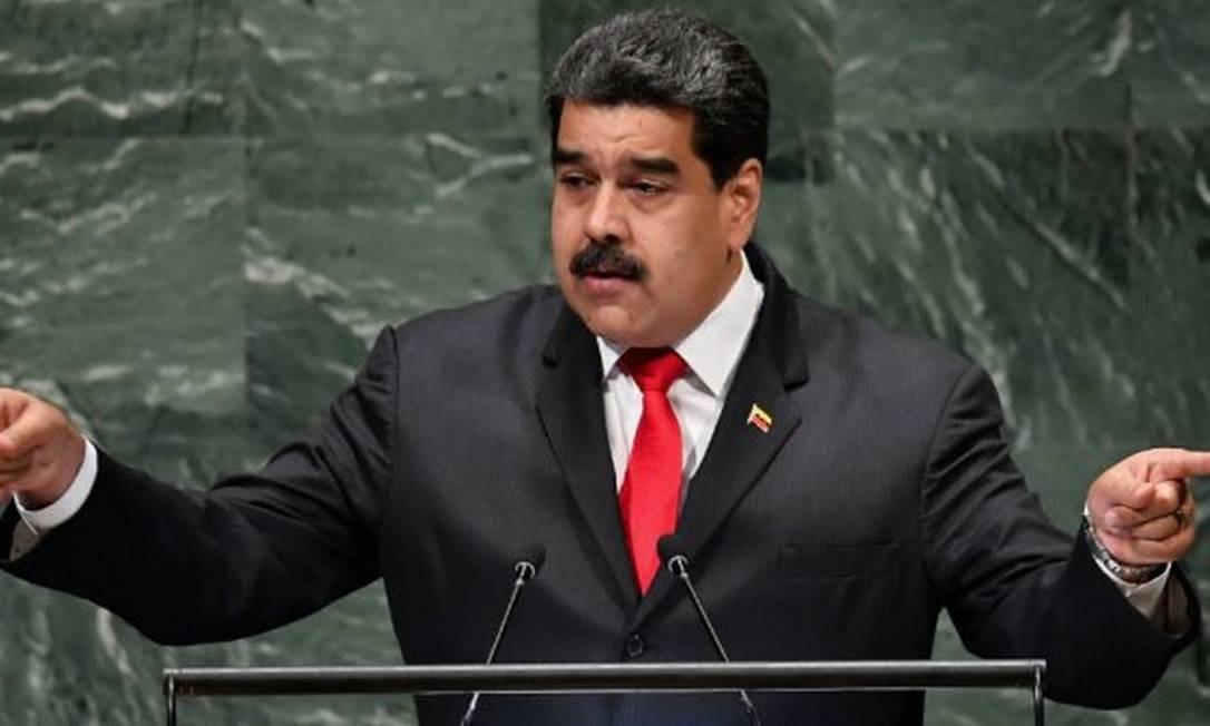 Fórum de ex-presidentes iberoamericanos Idea afirmou em carta que Maduro rompeu ordem democrática na Venezuela Foto: Angela Weiss / AFP