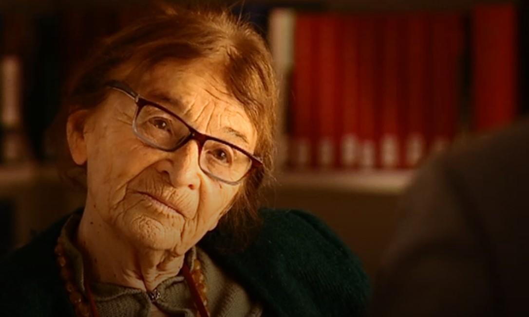 Aos 89 anos, filósofa húngara Ágnes Heller, que sobreviveu ao Holocausto e ao comunismo, vê premiê húngaro Viktor Orbán como um novo tirano Foto: Reprodução