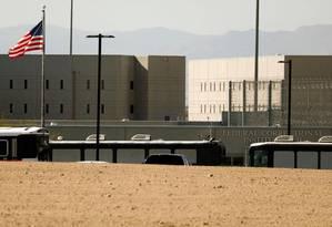 Prisão federal de Victorville, na Califórnia Foto: PATRICK T. FALLON / REUTERS 8-6-18