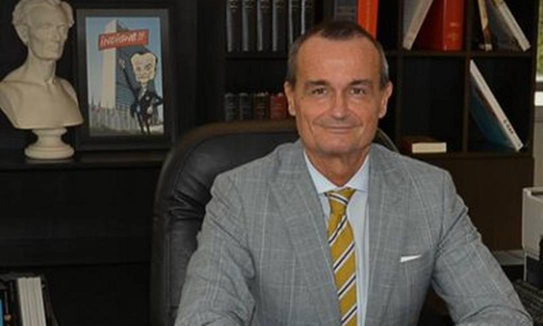 O embaixador da França nos Estados Unidos, Gerard Araud Foto: Reprodução/Twitter