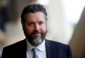 Ernesto Araújo, chanceler do governo de Jair Bolsonaro. Foto: Adriano Machado / Reuters