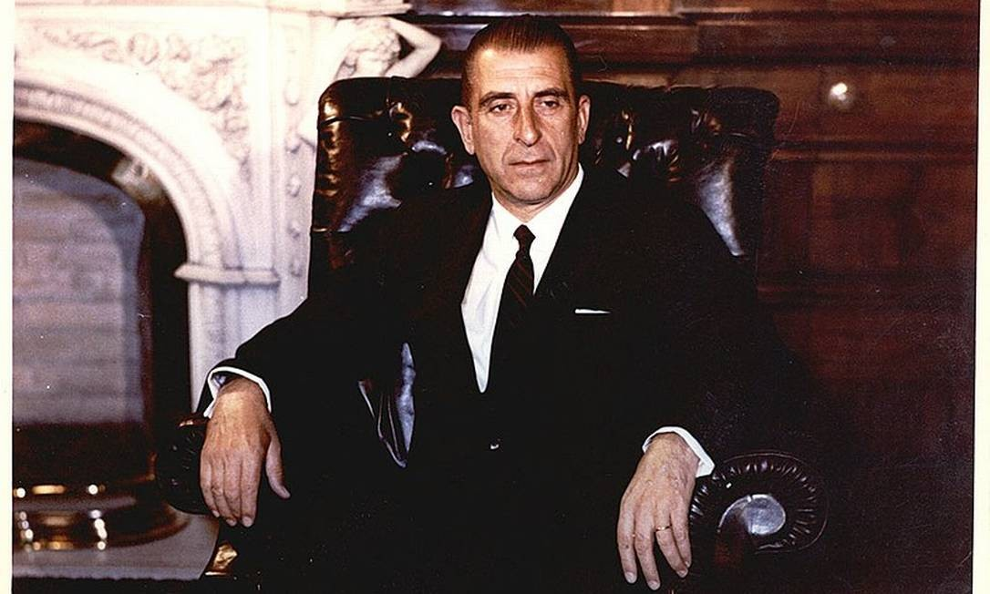 O ex-presidente chileno Eduardo Frei Montalva, da Democracia Cristã, que governou o Chile de 1964 a 1970 Foto: Reprodução