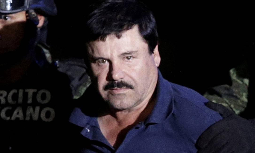 """Joaquin """"El Chapo"""" Guzmán agora julgado e condenado já foi o traficando mais procurado do mundo Foto: Henry Romero / REUTERS"""