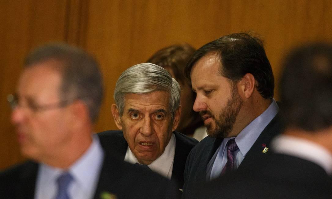 O ministro Chefe de Gabinete de Seguranca Institucional, General Augusto Heleno Foto: Daniel Marenco / Agência O Globo