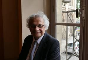 O escritor libanês Amin Maalouf, autor do recém-lançado 'O naufrágio das civilizações' Foto: Divulgação