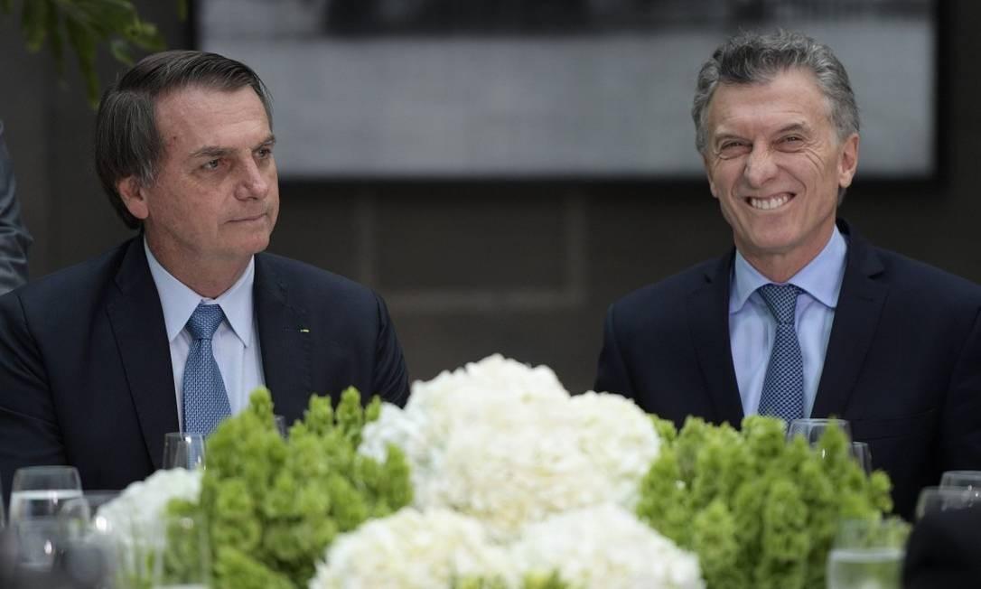 Após deixar claro o apoio a Macri, Bolsonaro afirma que