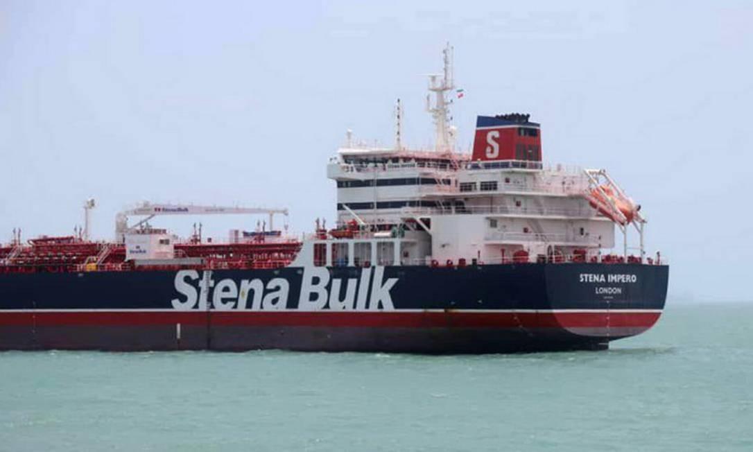 Resultado de imagem para navio britanico apreendido pelo irã