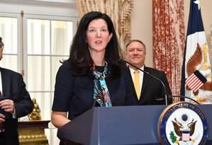 A ex-subsecretária de Estado para Assuntos do Hemisfério Ocidental, Kimberly Breier Foto: Departamento de Estado dos EUA