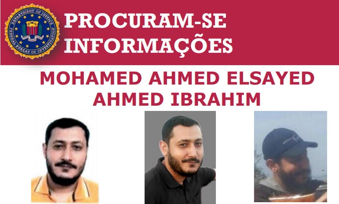 Mohamed Ahmed Elsayed, procurado pelo FBI por suposta participação na organização terrorista Al Qaeda Foto: FBI/Reprodução