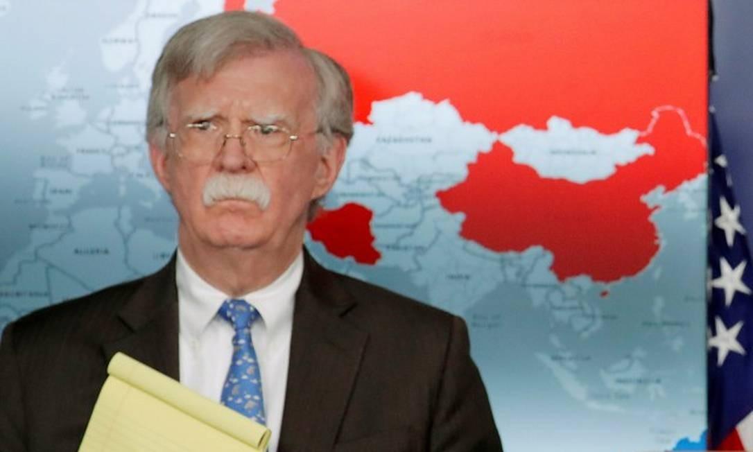 O ex-assessor de Segurança Nacional dos Estados Unidos, John Bolton Foto: Jim Young / REUTERS 28-1-19