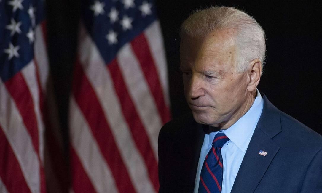 O pré-candidato democrata e ex-presidente dos EUA, Joe Biden Foto: WILLIAM THOMAS CAIN / AFP 24-9-19