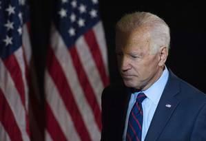 O candidato democrata e ex-presidente dos EUA, Joe Biden Foto: WILLIAM THOMAS CAIN / AFP 24-9-19