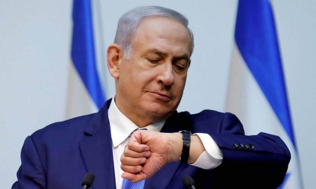 O primeiro-ministra de Israel, Benjamin Netanyahu Foto: AMIR COHEN / REUTERS 19-12-2018