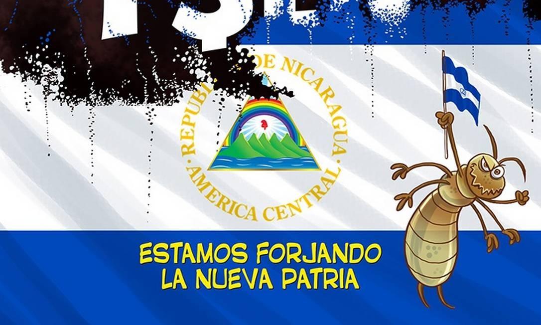 Capa da última edição impressa do suplemento satírico El Azote, publicada neste domingo Foto: Reprodução El Azote