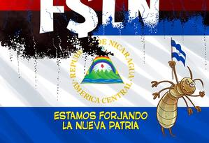 Capa da última edição impressa do suplemento satírico El Azote, publicada neste domingo Foto: Manuel Guillén / Reprodução El Azote
