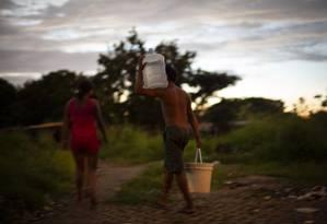 Segundo a Human Rights Watch, mais de 500 menores venezuelanos migraram desacompanhados para o Brasil ao longo de seis meses de 2019 Foto: Daniel Marenco / Agência O Globo