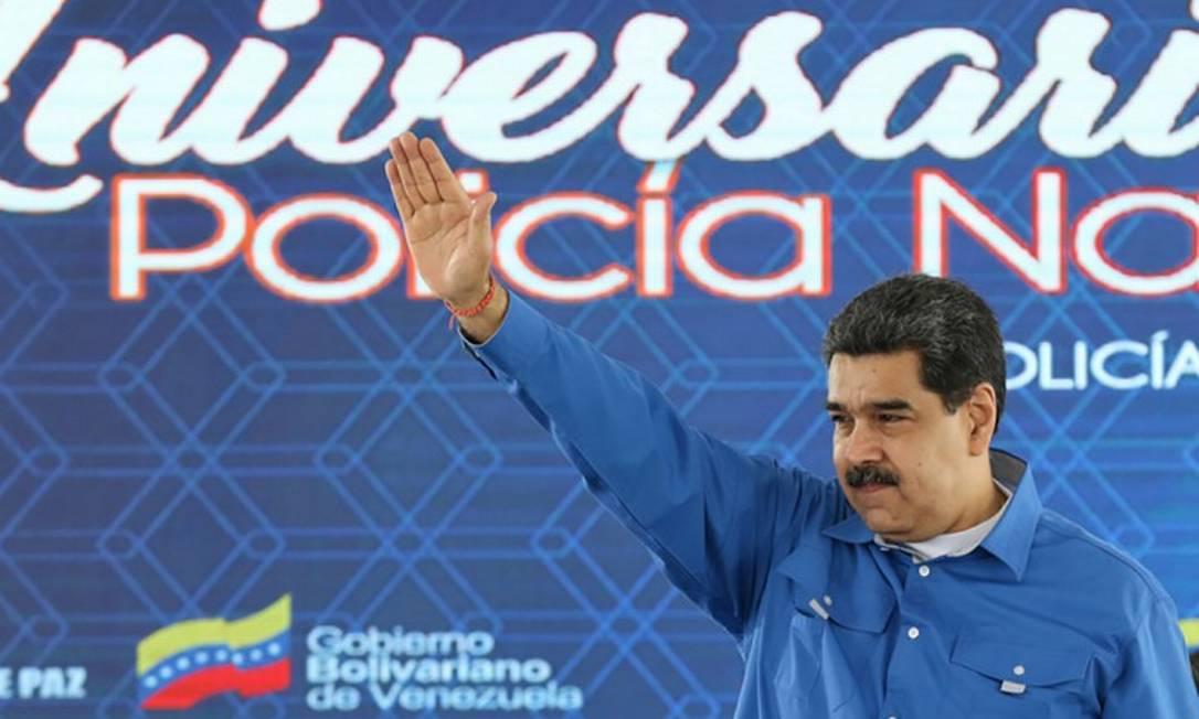 Como aconteceu em 30 de abril passado, quando muitos acharam que Maduro seria alvo de um levante militar decisivo, o plano natalino não prosperou Foto: MARCELO GARCIA / AFP