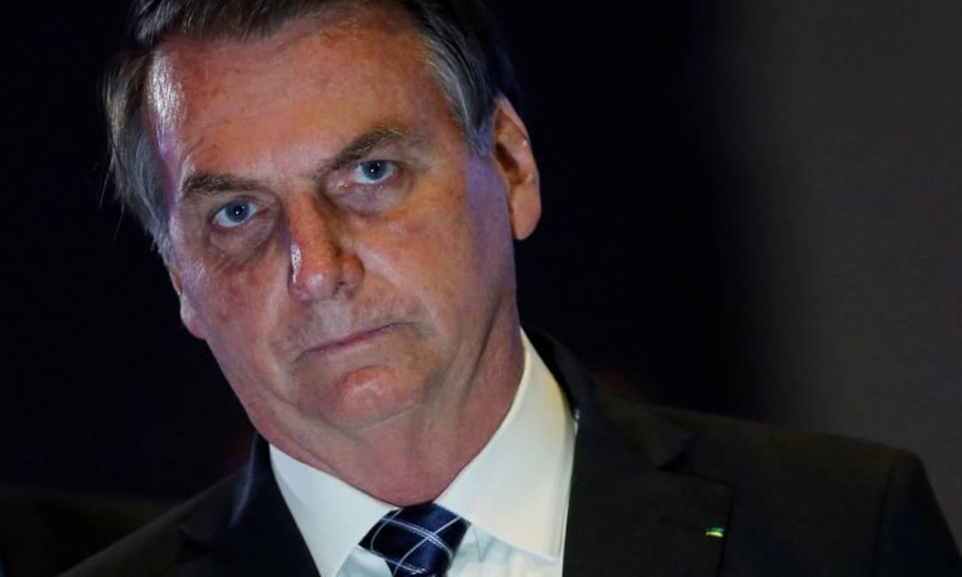 Para autores, ninguém representa melhor 'políticas fascistas da pandemia' do que o presidente Jair Bolsonaro Foto: ADRIANO MACHADO / Reuters