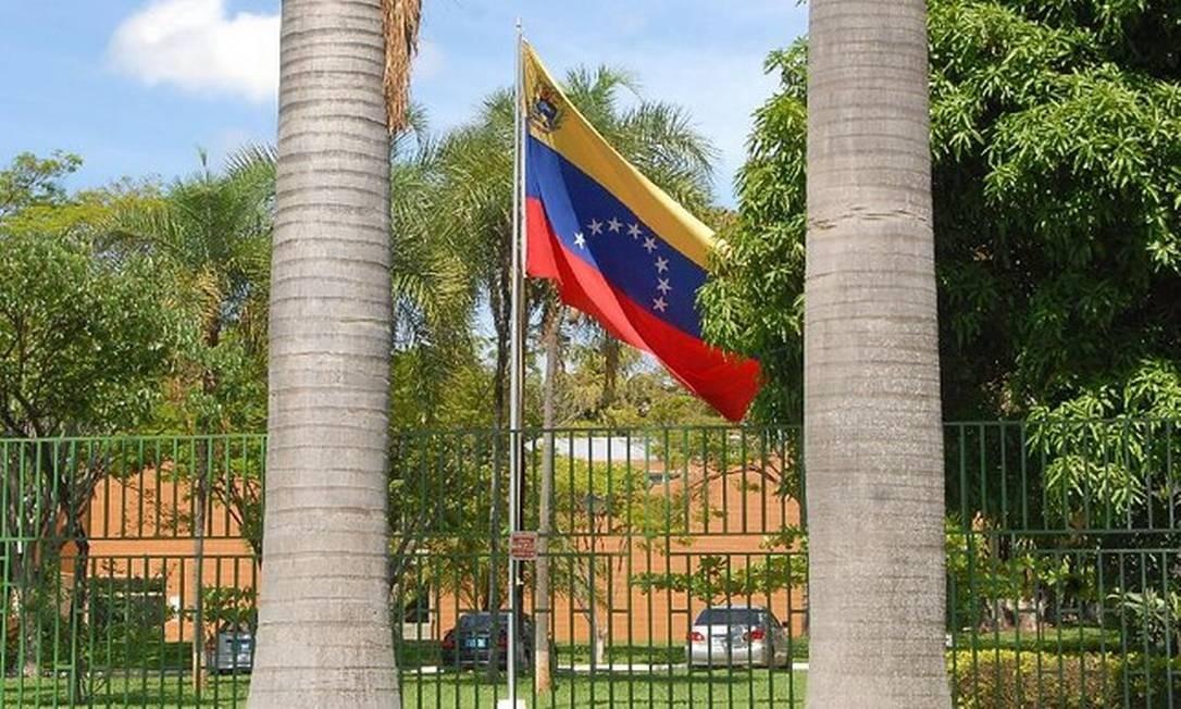 Embaixada da Venezuela em Brasília Foto: Agência Brasil