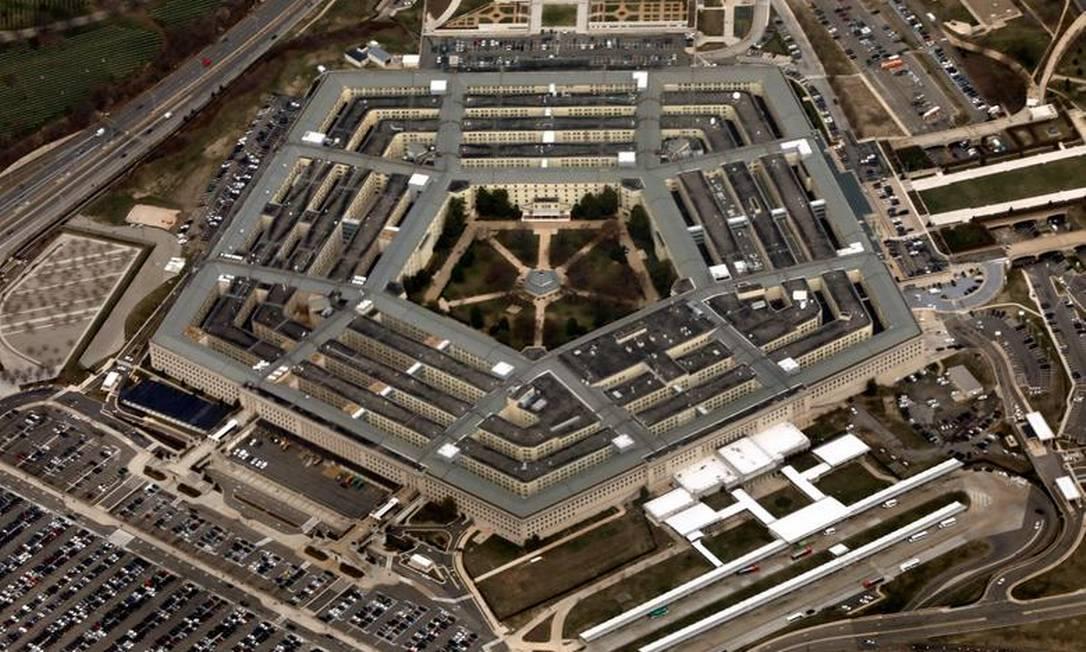 O Pentágono: Gastos absolutos com defesa aumentam e incluem investimentos em armas hiperssônicas Foto: Reprodução