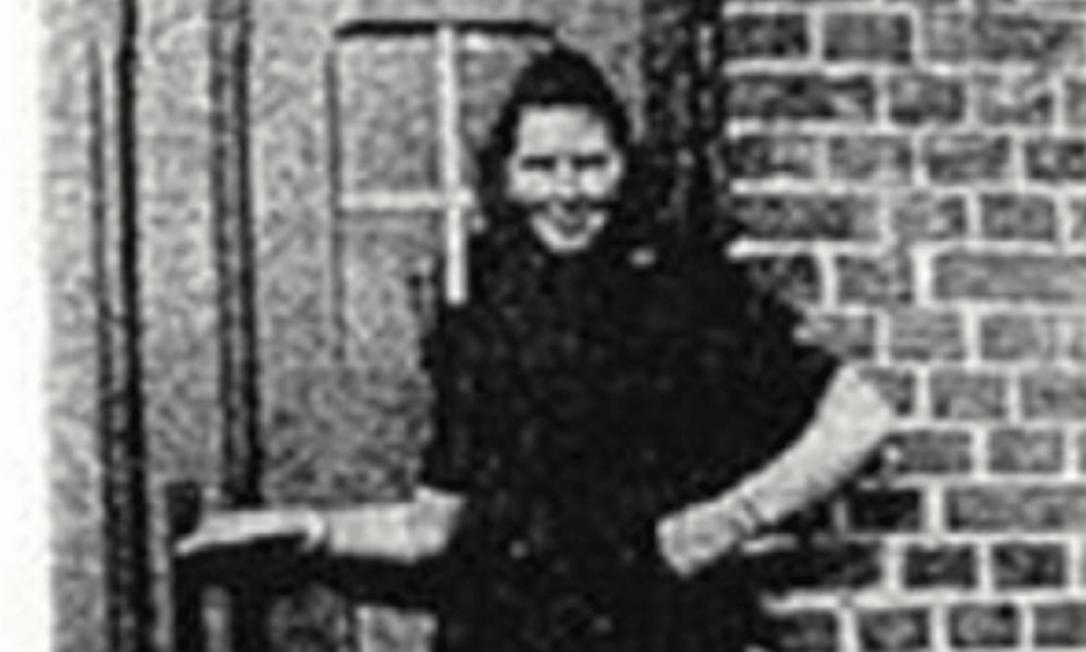 Irmgard Furchner no campo de concentração de Sutthof Foto: Reprodução