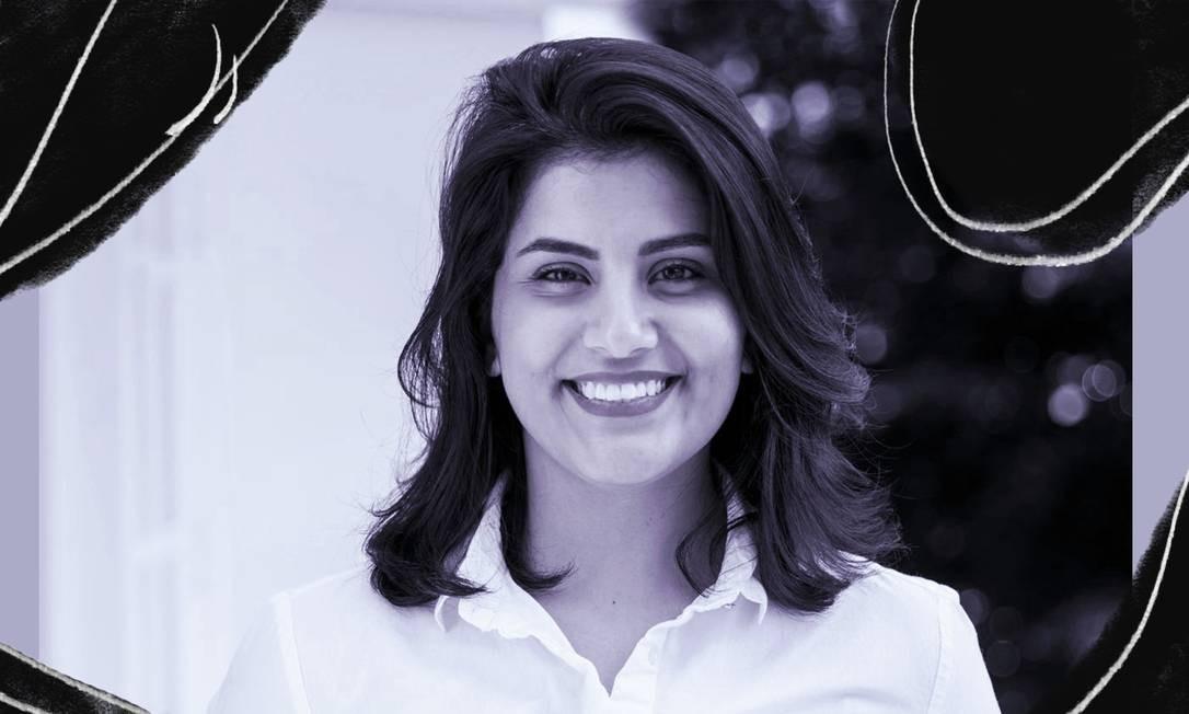 A ativista dos direitos das mulheres da Arábia Saudita Loujain al-Hathloul Foto: Reprodução/ Reuters