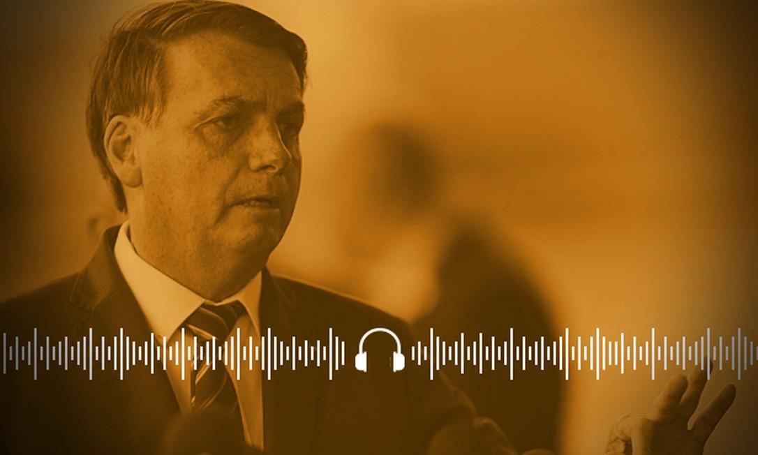 Bolsonaro afirma sempre que apenas estados e municípios são responsáveis por combater a Covid Foto: Arte