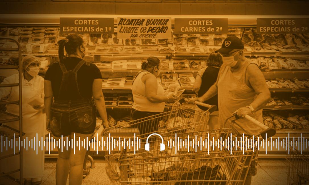 Puxada pelos alimentos, inflação teve em maio a maior alta em 25 anos, e chegou a 8,06% em 12 meses. Foto: Arquivo