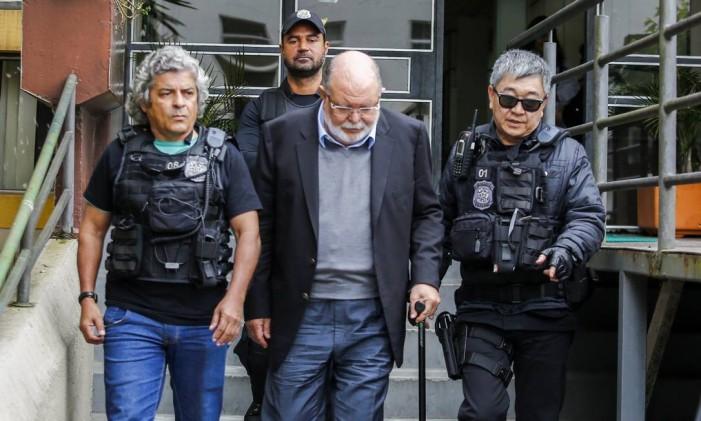 Ex-presidente da OAS Léo Pinheiro retorna à prisão Foto: Paulo Lisboa / Brazil Photo Press