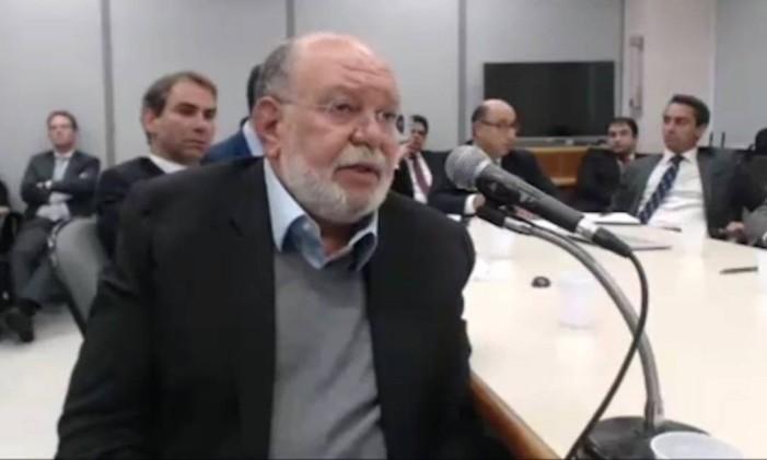 O ex-presidente da OAS, Léo Pinheiro Foto: Reprodução