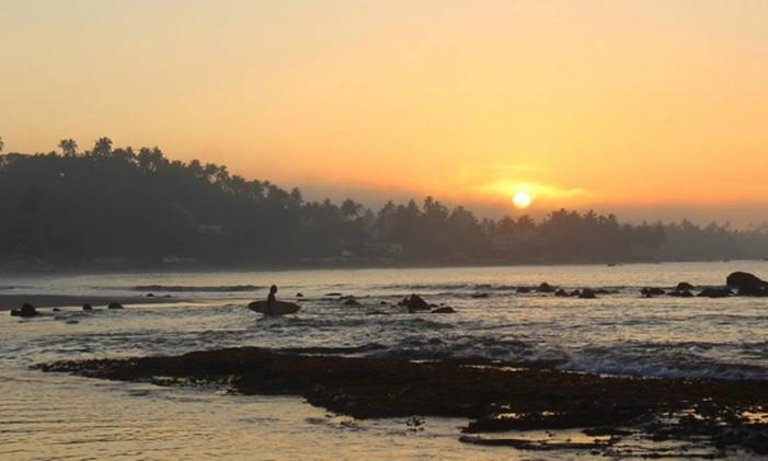 Sri Lanka. Arugam Bay é considerada a capital do surfe no país Foto: Surf Trips/Divulgação