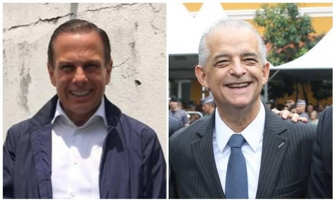 Os candidatos a governador de São Paulo João Doria (PSDB) e Márcio França (PSB) Foto: Divulgação