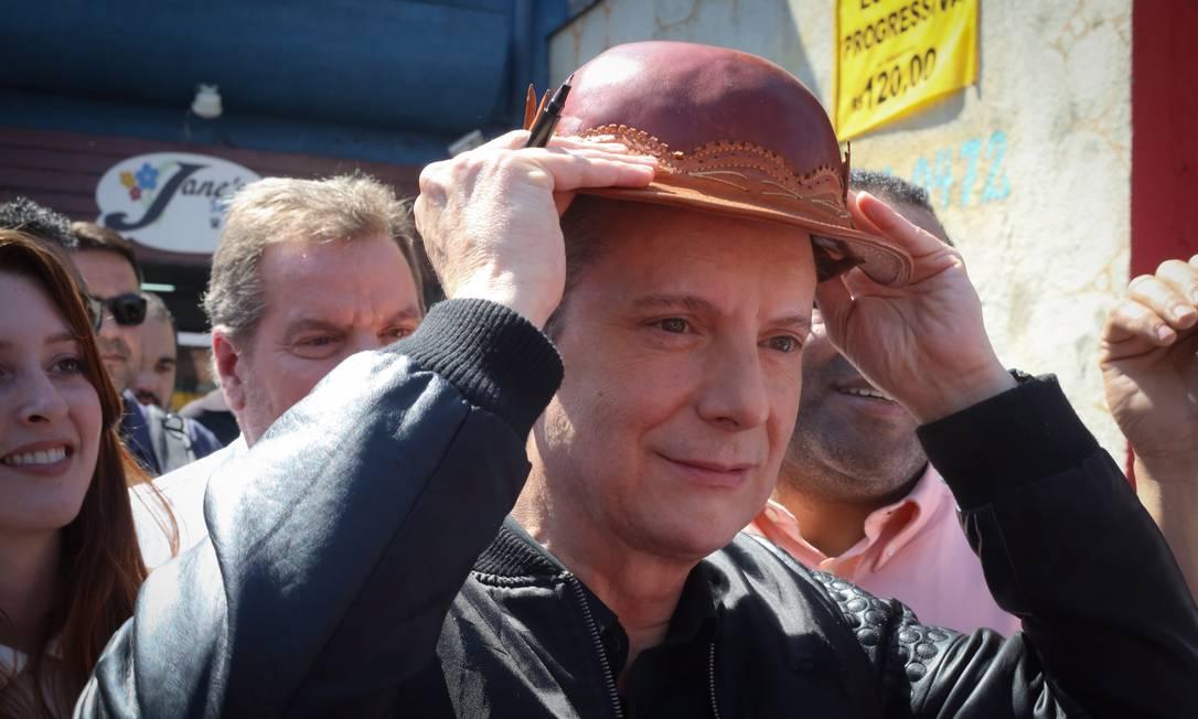 Celso Russomanno foi candidato a prefeito de São Paulo em 2016 Foto: Marcos Alves / Agência O Globo