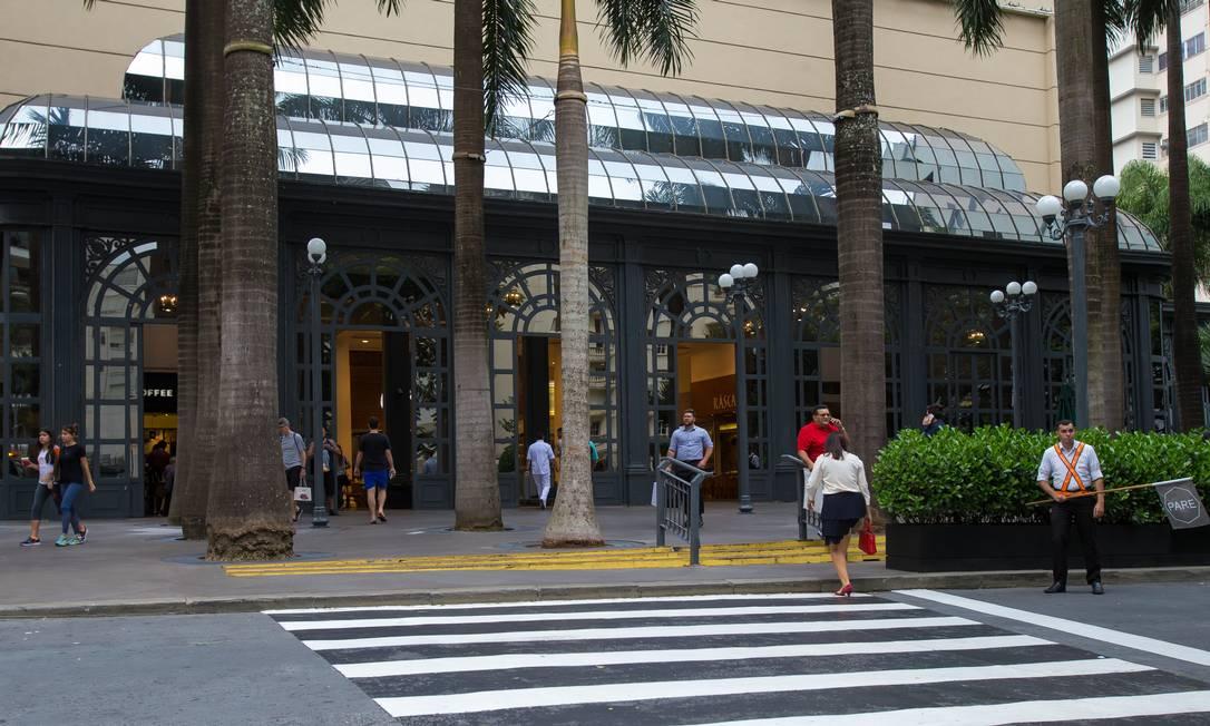 Shopping Pátio Higienópolis entrou na Justiça para apreender menores desacompanhados do pai Foto: Edilson Dantas / Agência O Globo