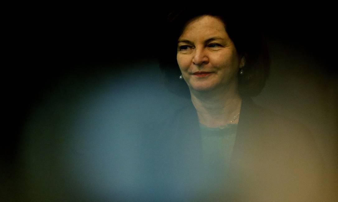 A ex-procuradora-geral da República, Raquel Dodge Foto: Jorge William / Agência O Globo